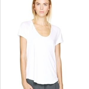 Aritzia Wilfred Tanis White T-Shirt, gently worn